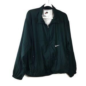 Vintage Nike Hunter Green Windbreaker
